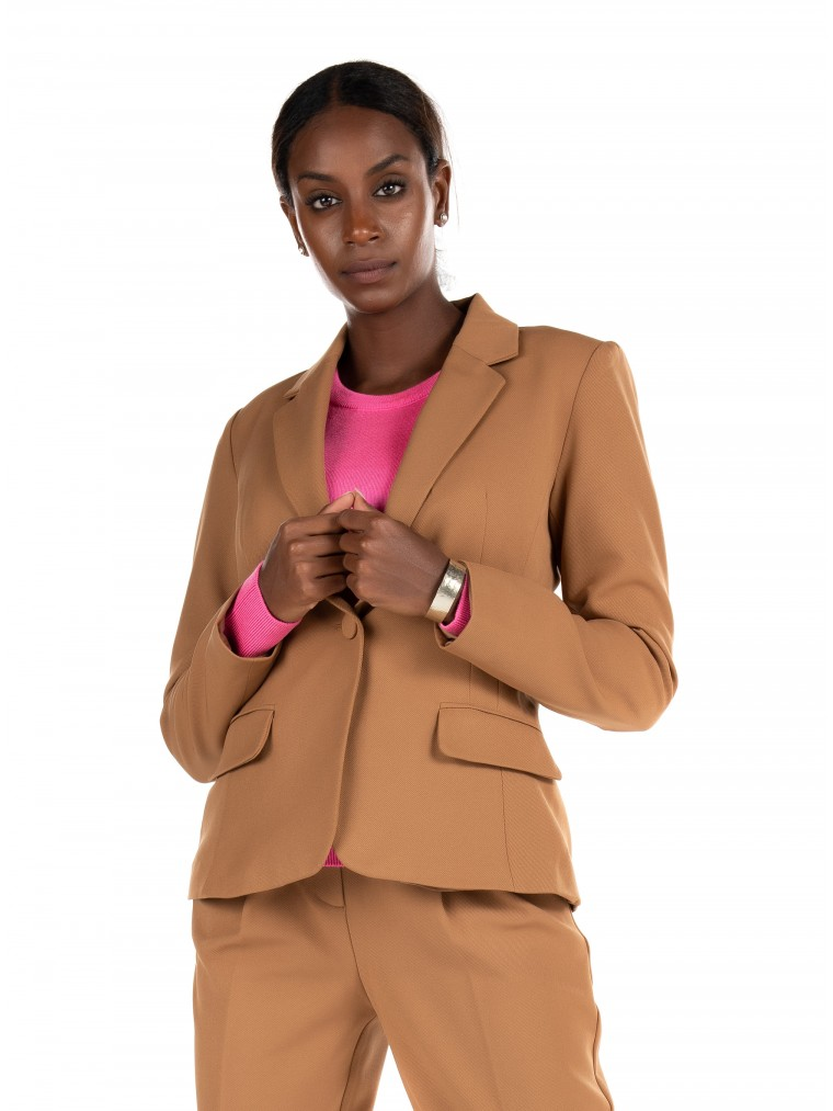 Only Fitted Blazer Tenia - Lana-Beige