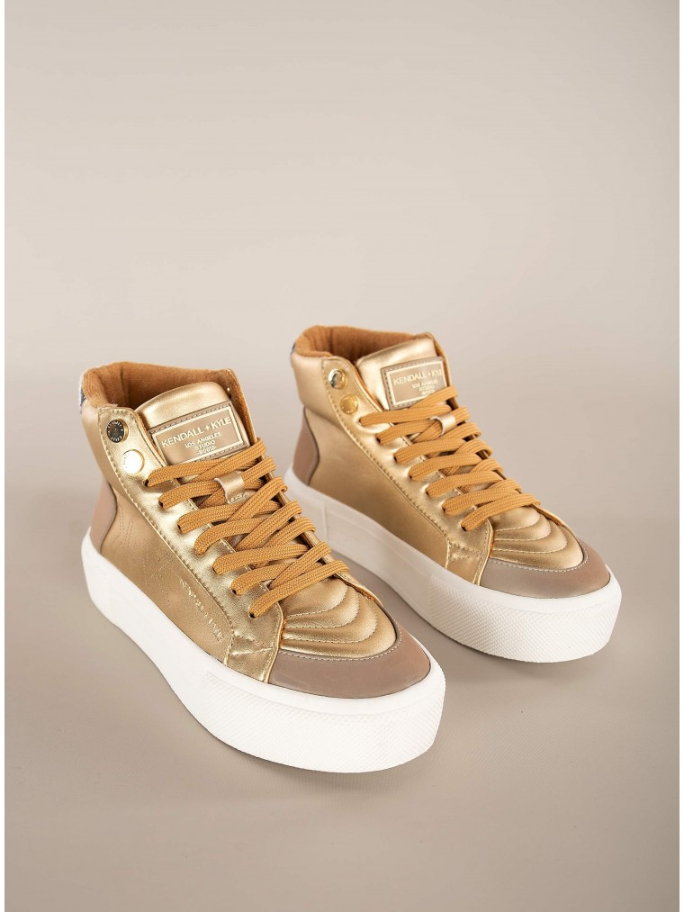 Kendall + Kylie Sneakers Tetra-Gold