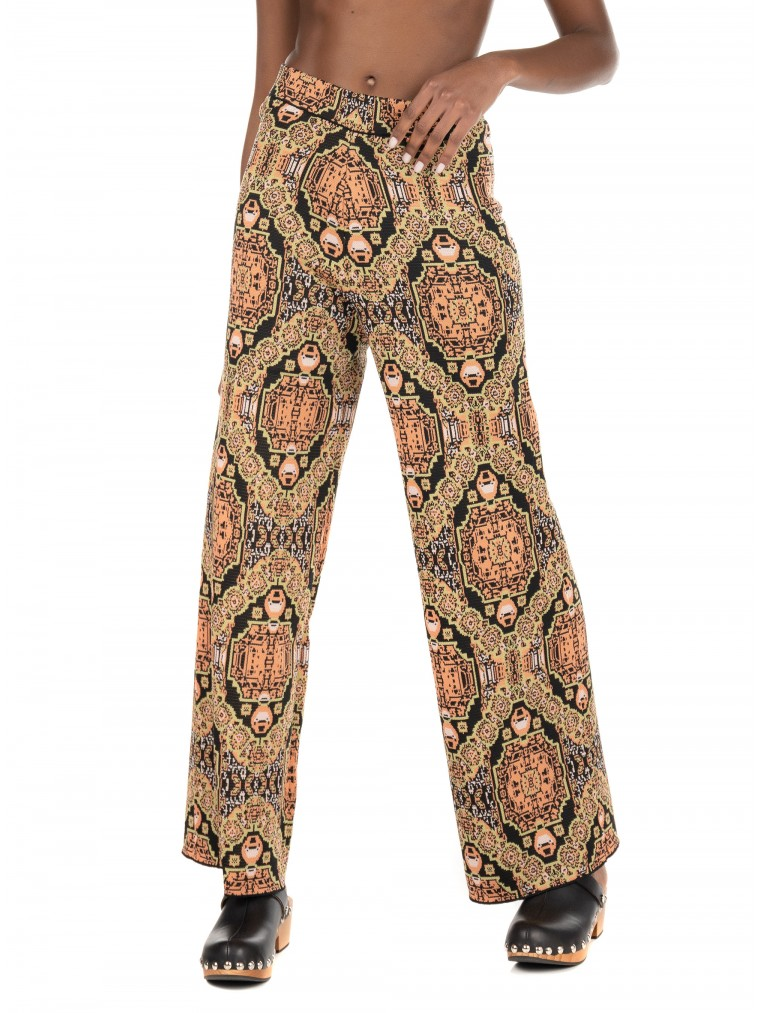 Free People Sun In The West Pants-Black