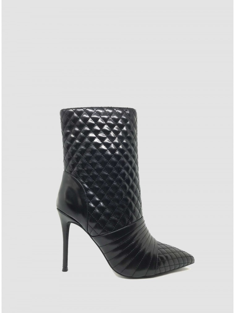 Jeffrey Campbell Ankle Boots Viruses-Black