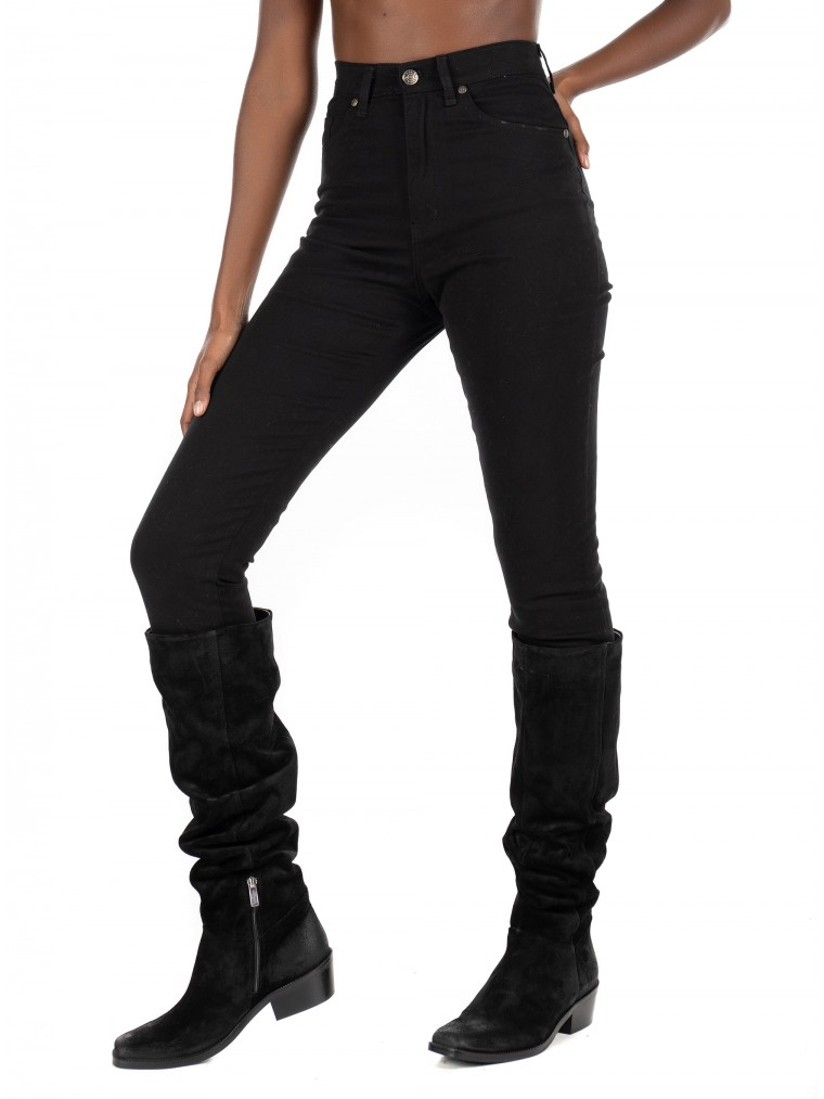 Collectiva Noir Jeans No11 Tres-Black