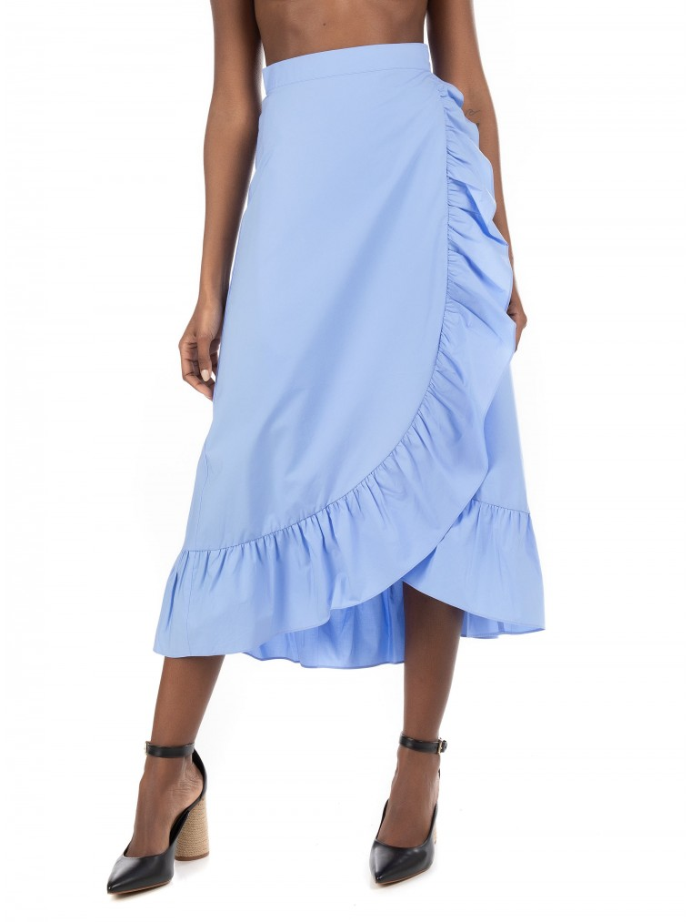 Maison Scotch Skirt-Light Blue