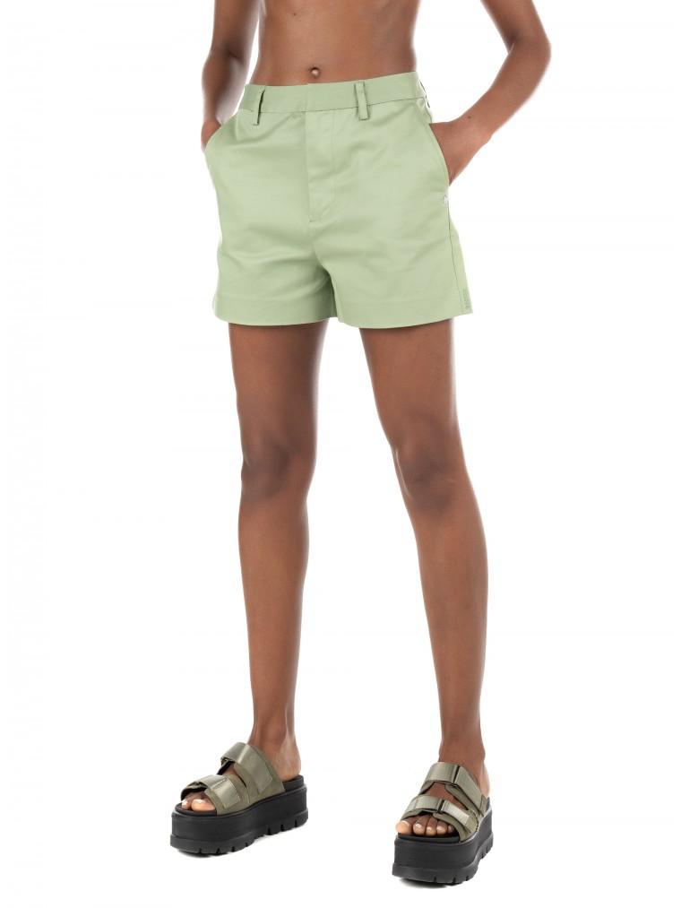 Maison Scotch Chino Shorts-Light Green