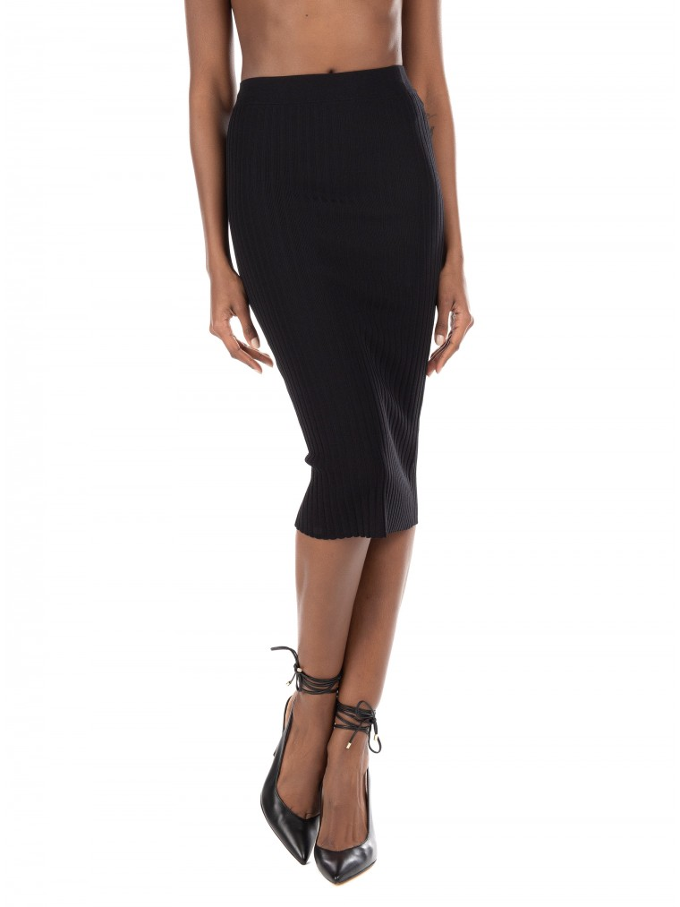 Guess Rib Skirt Ada-Black