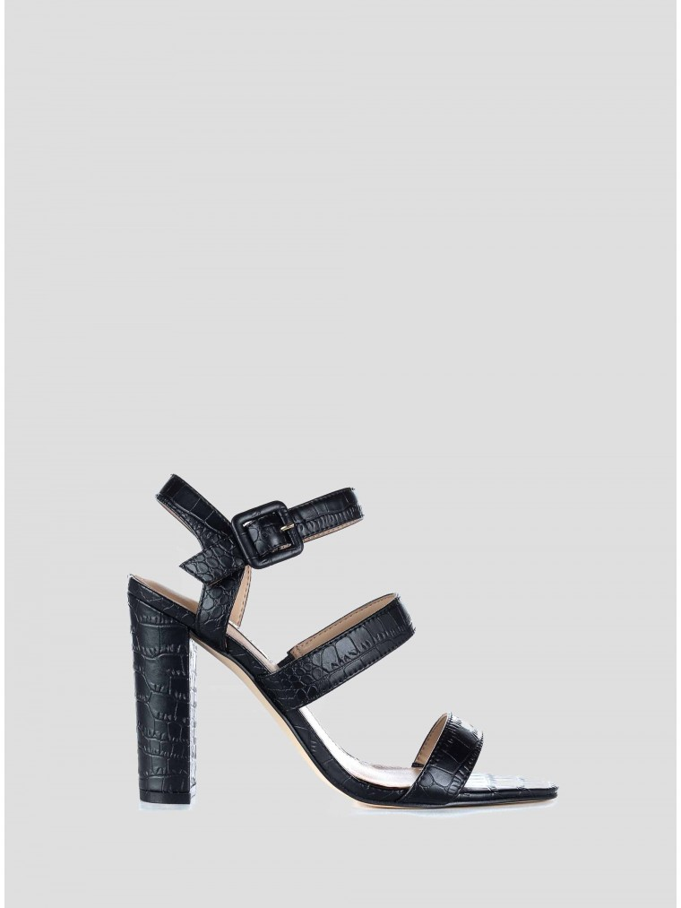 Guess Heel Sandals Melodie-Black