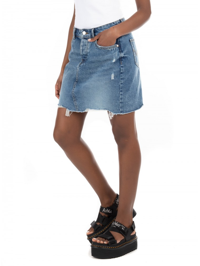 Only Skirt Sky Life-Medium Aged Denim