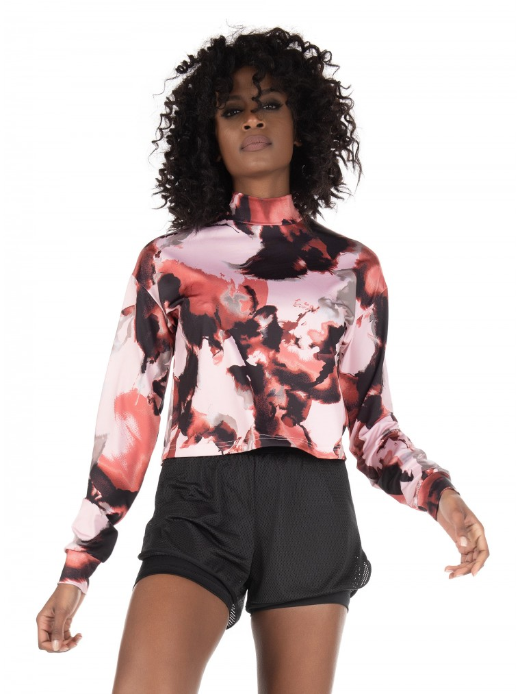 Only Cropped Training Top-Printed