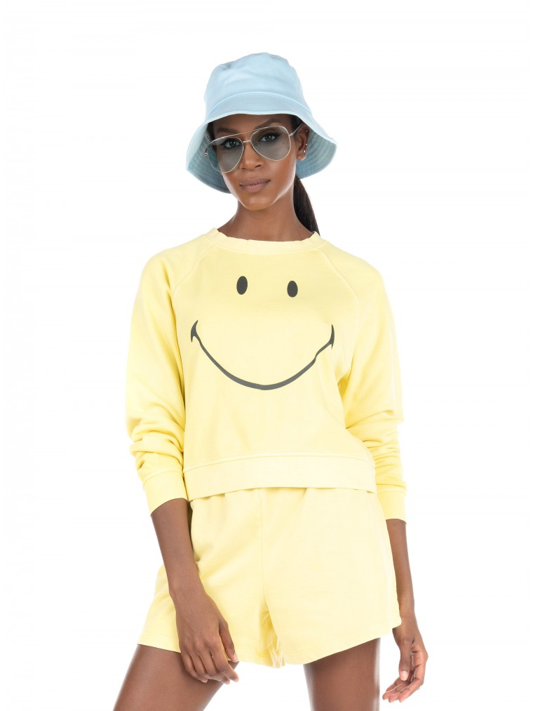 Only Sweater Smiley-Yellow