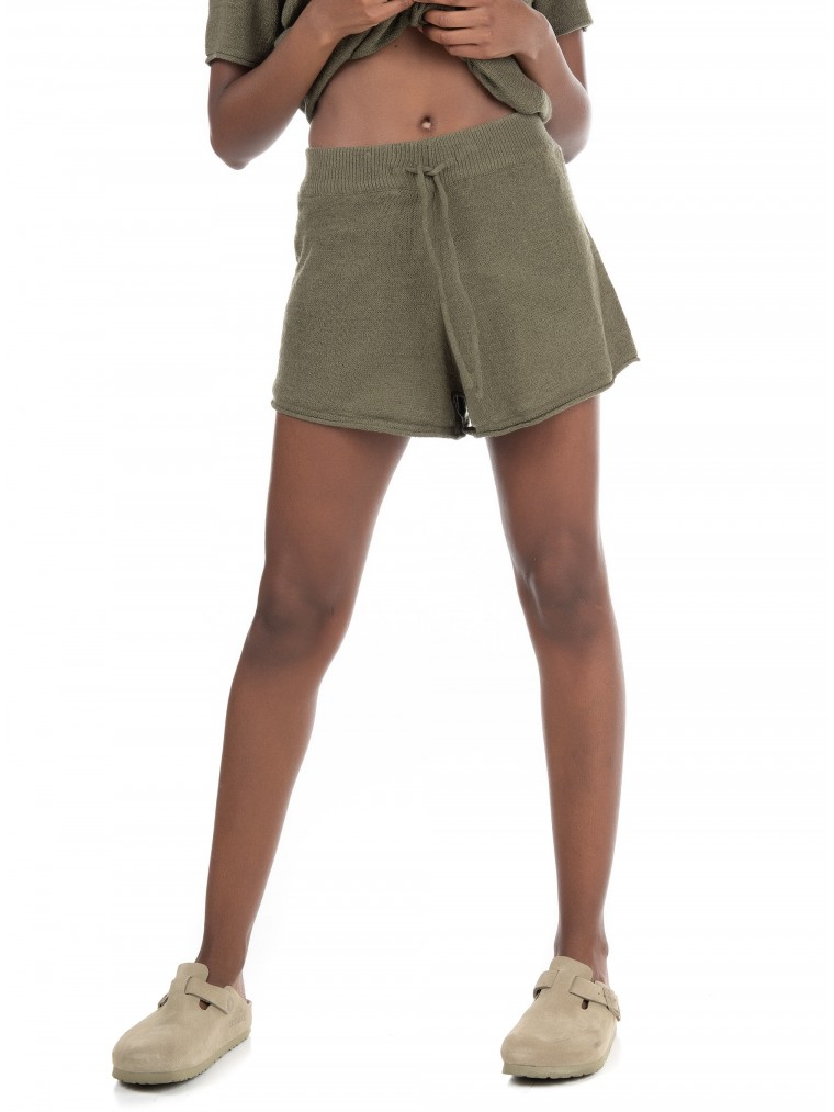 Only Knitted Shorts Fiona-Olive