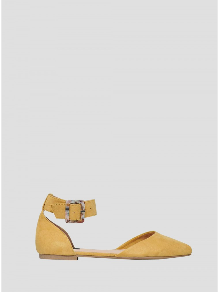 Only Flats Anas-6-Yellow