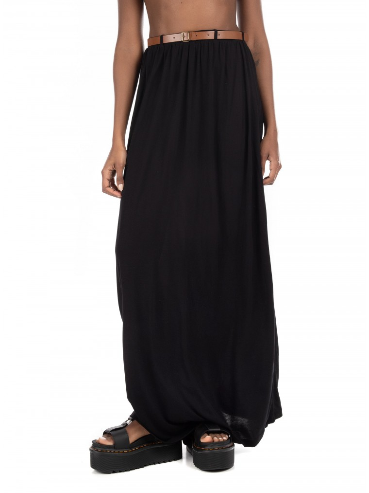 Vero Moda Skirt With Belt-Black