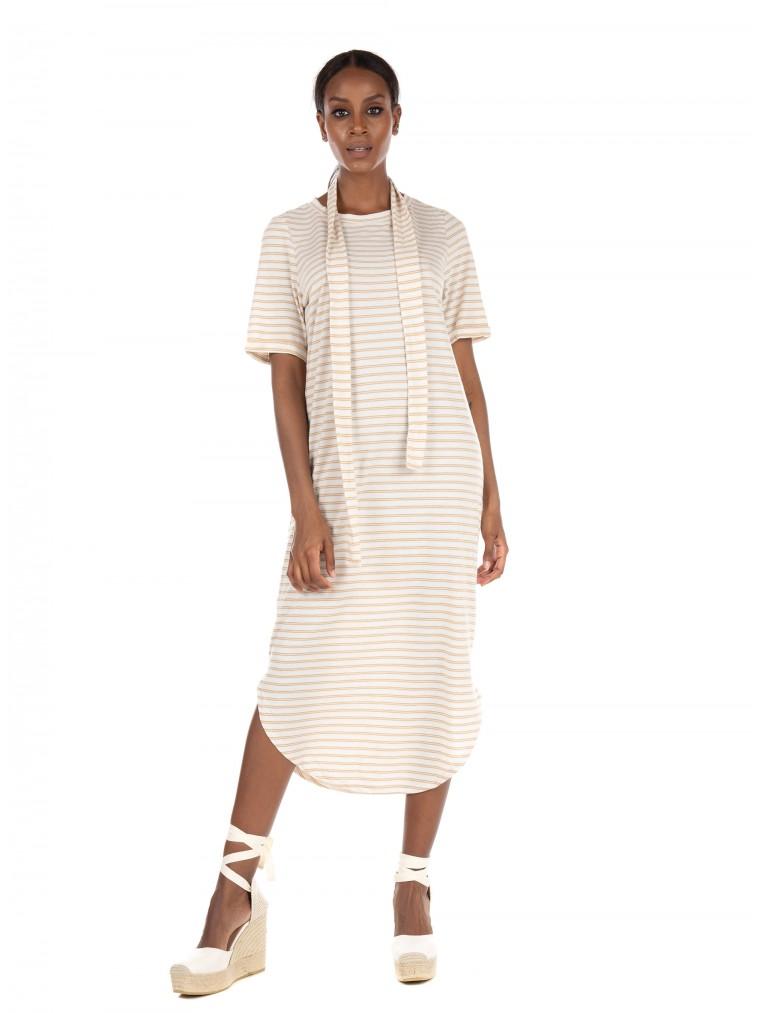 Vero Moda dress Alona-Beige