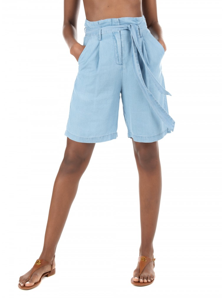 Vero Moda Long Shorts Viviananeve-Light Blue