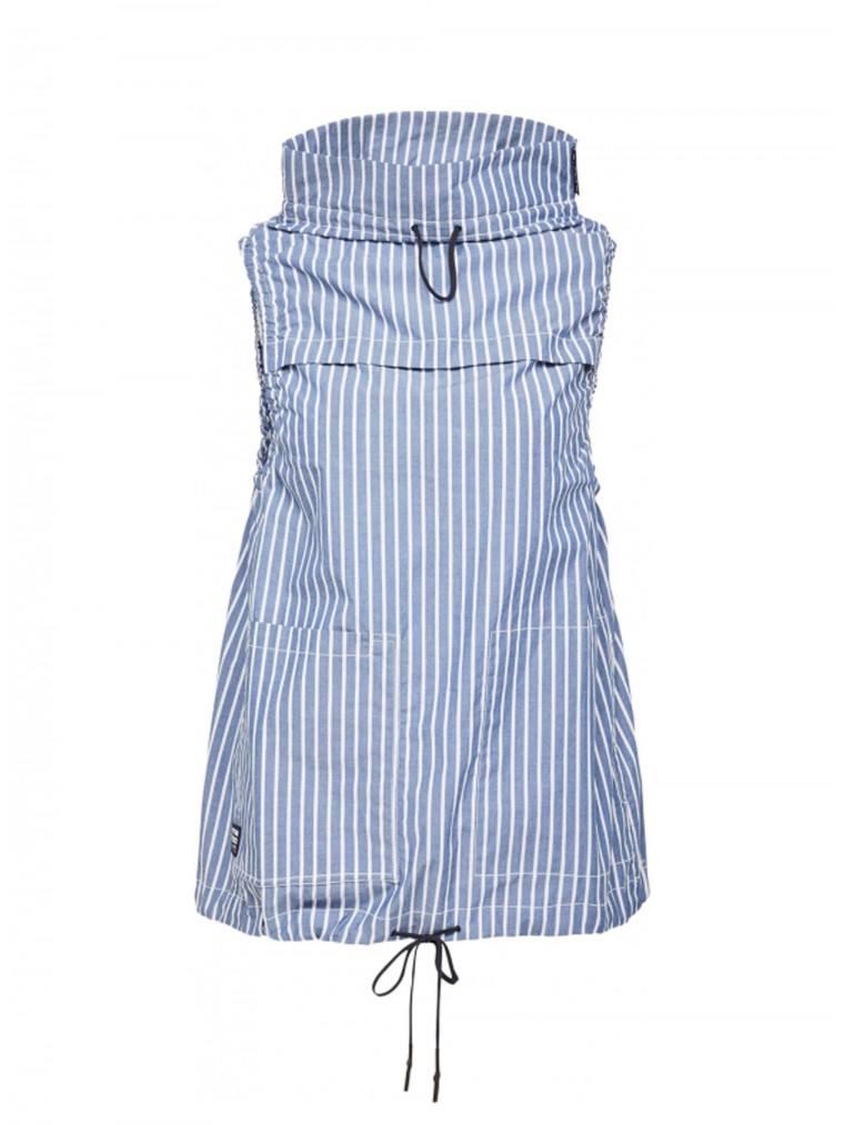 G-Star Sleeveless Mock Neck Top-Striped