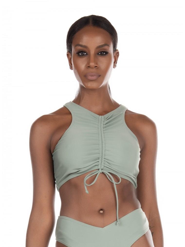 NA-KD Bikini Top-Light Green