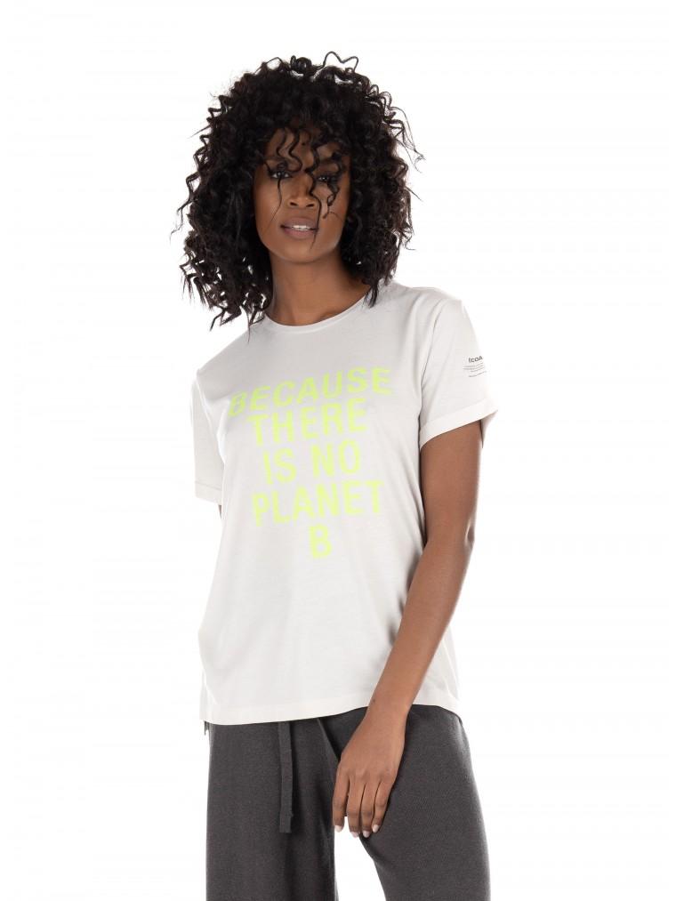 Ecoalf Onda T-Shirt-Light Grey