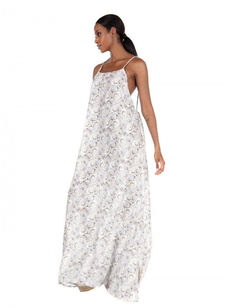 Collectiva Noir Dress Ekavi 2-Printed