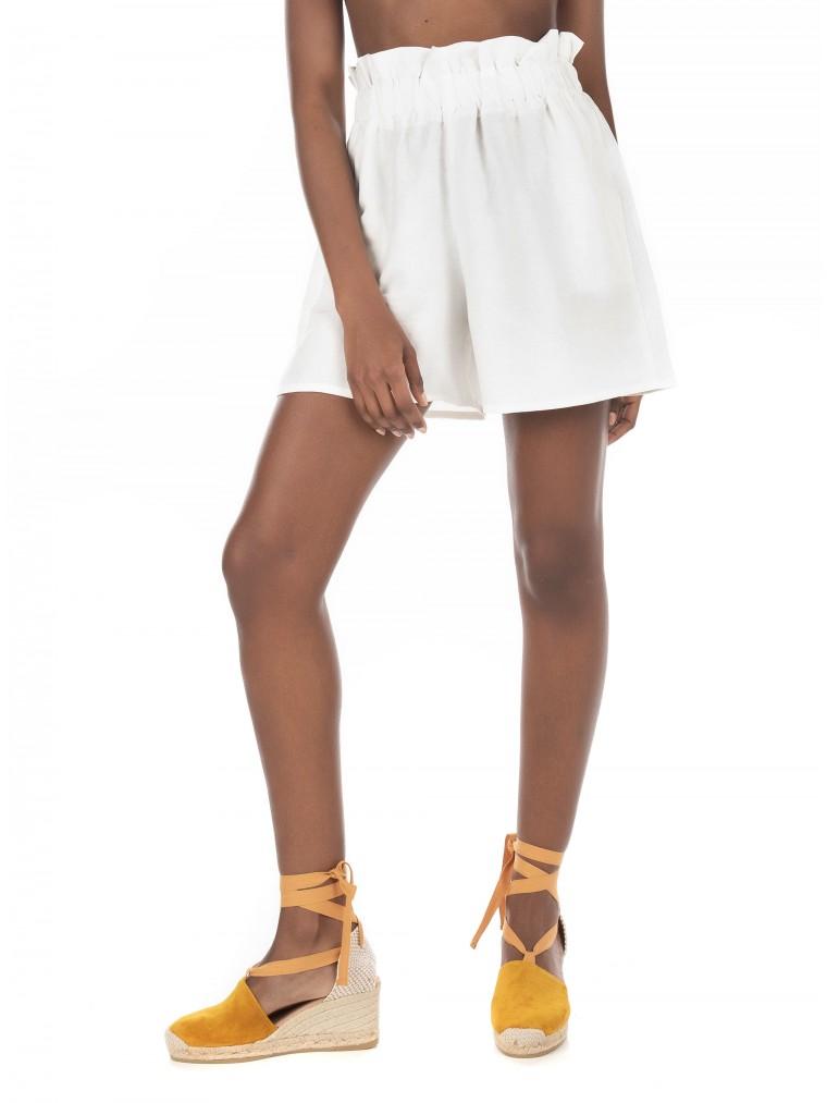 Collectiva Noir Shorts Aias 2-White