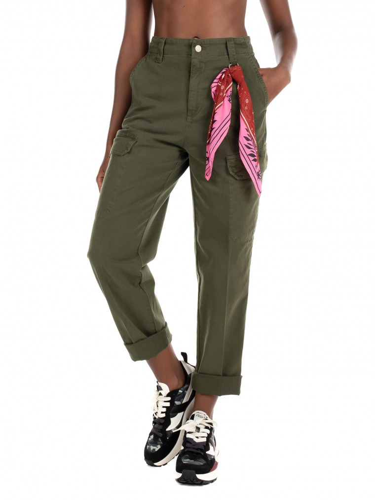 Guess Cargo Pants Hope-Olive