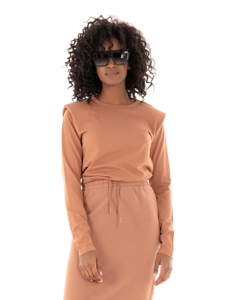 Only Blouse Luca-Brown