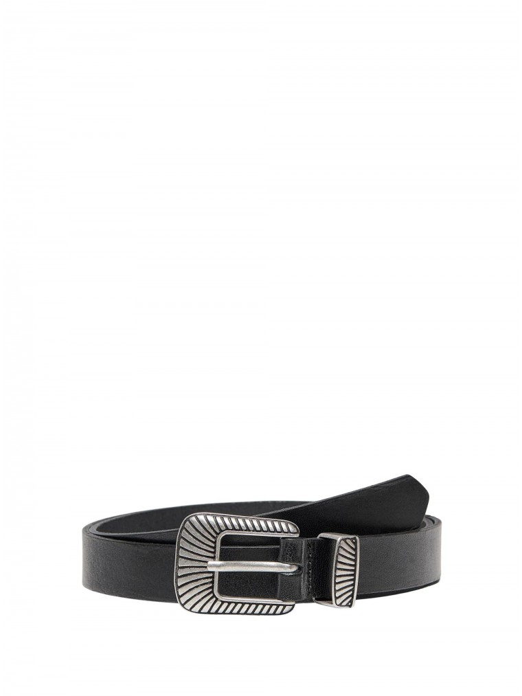 Only Leather Belt Betty-Black