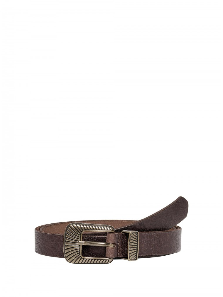 Only Leather Belt Betty-Brown