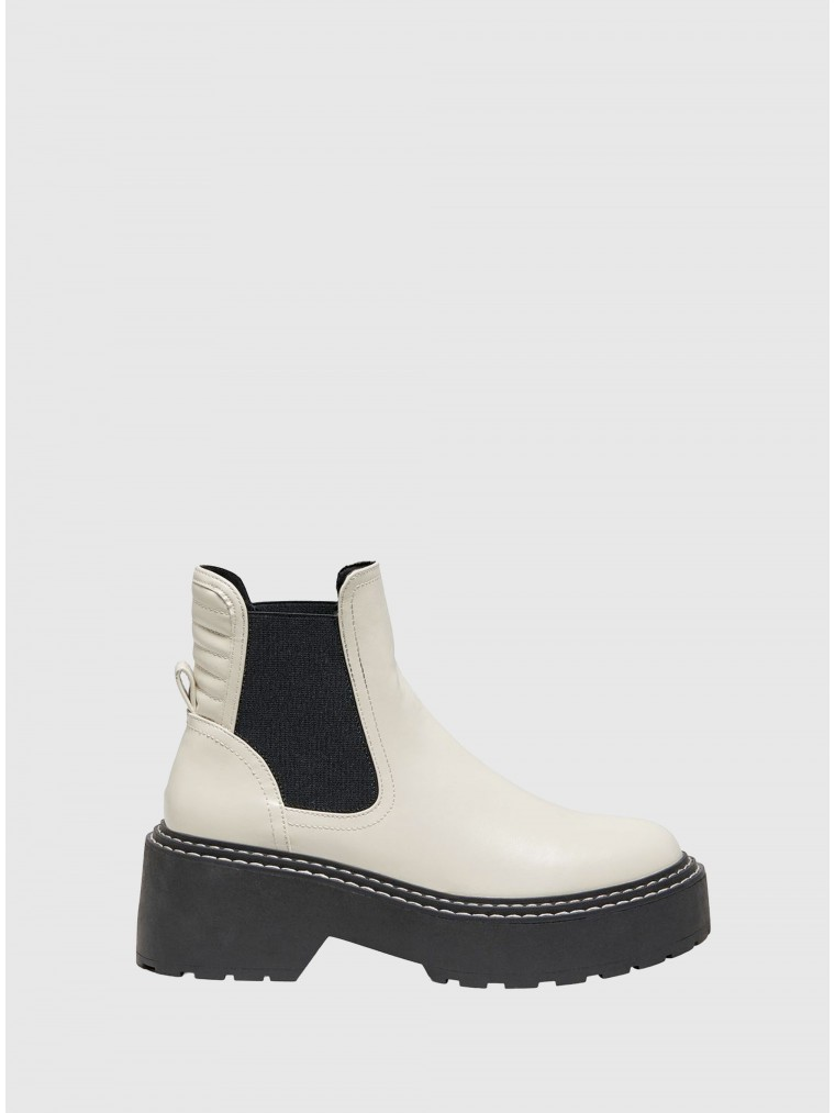 Only Chelsea Boots Bossi-2-Off White