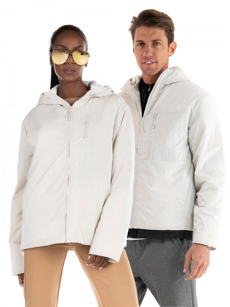 Rains Drifter Jacket-Off White