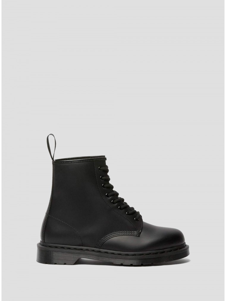 Dr Martens 1460 Mono Smooth Leather Ankle Boots-Black
