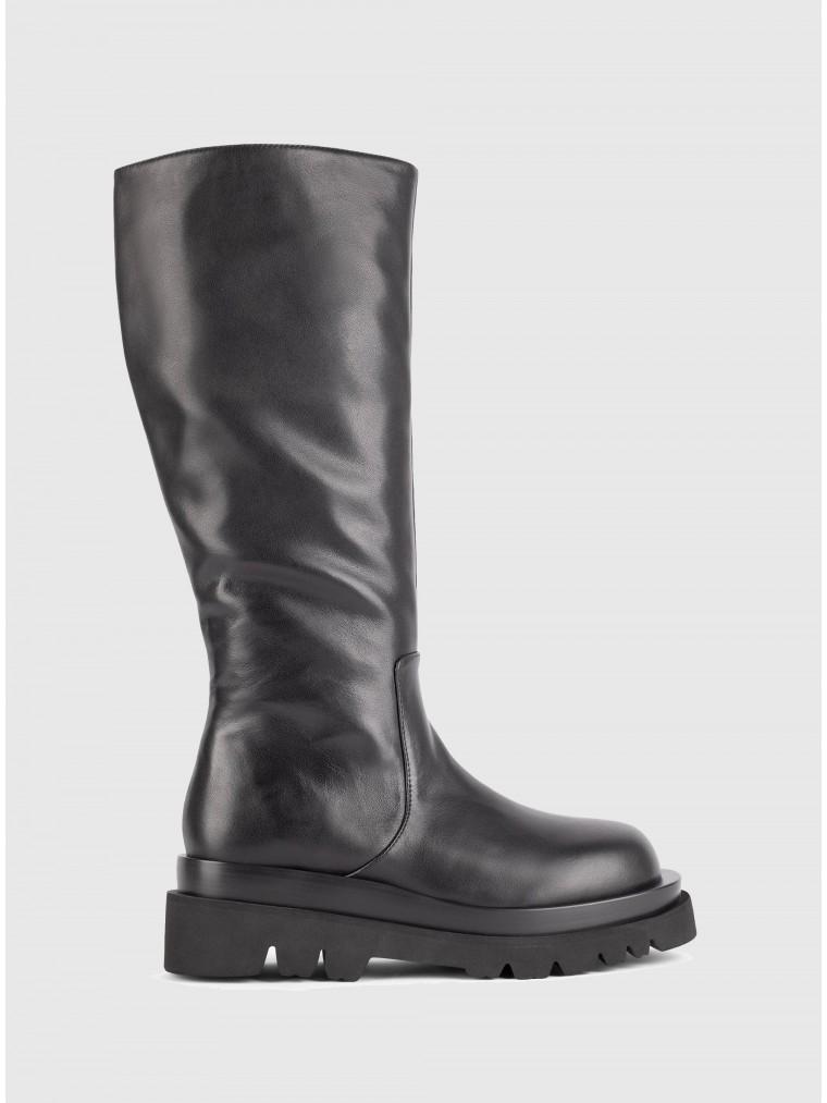Jeffrey Campbell Boots Tanked-Kh-Black