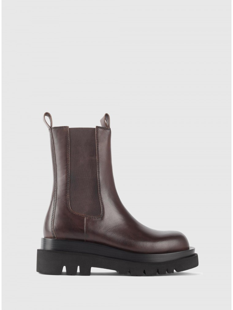 Jeffrey Campbell Ankle Boots Tanked-Brown