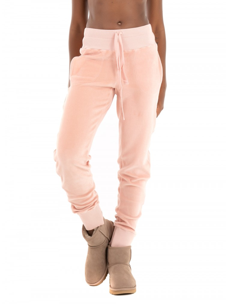 Deha Chenille Jogger-Light Pink
