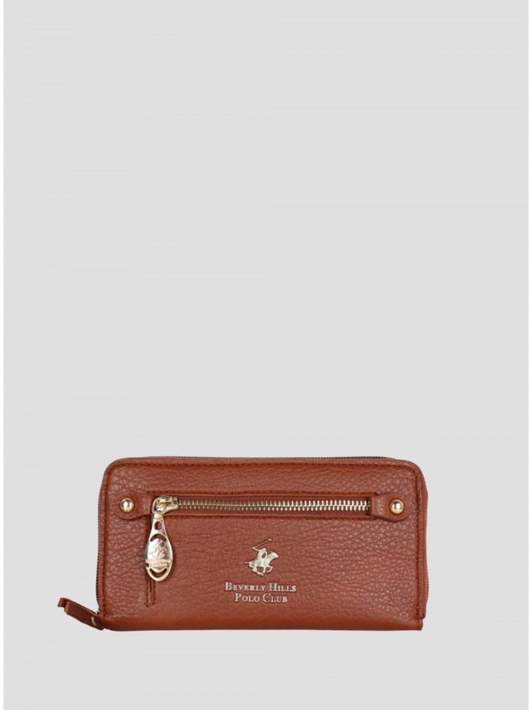 Beverly Hills Polo Club Wallet Victoria-Brown