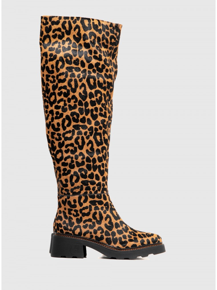 Carrano Boots-Animal Print