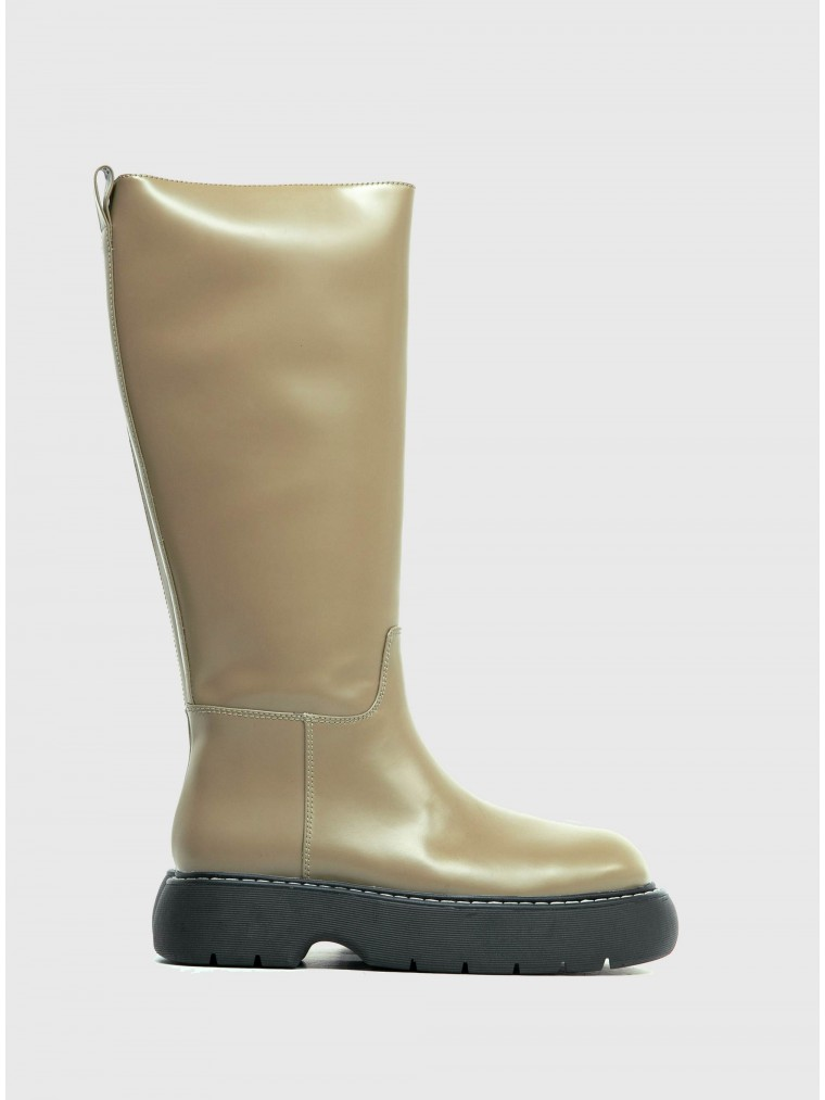 Jeffrey Campbell Boots Spying-Olive