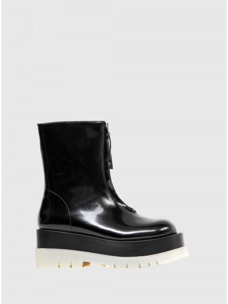 Jeffrey Campbell Ankle Boots Dozed-Pl-Black