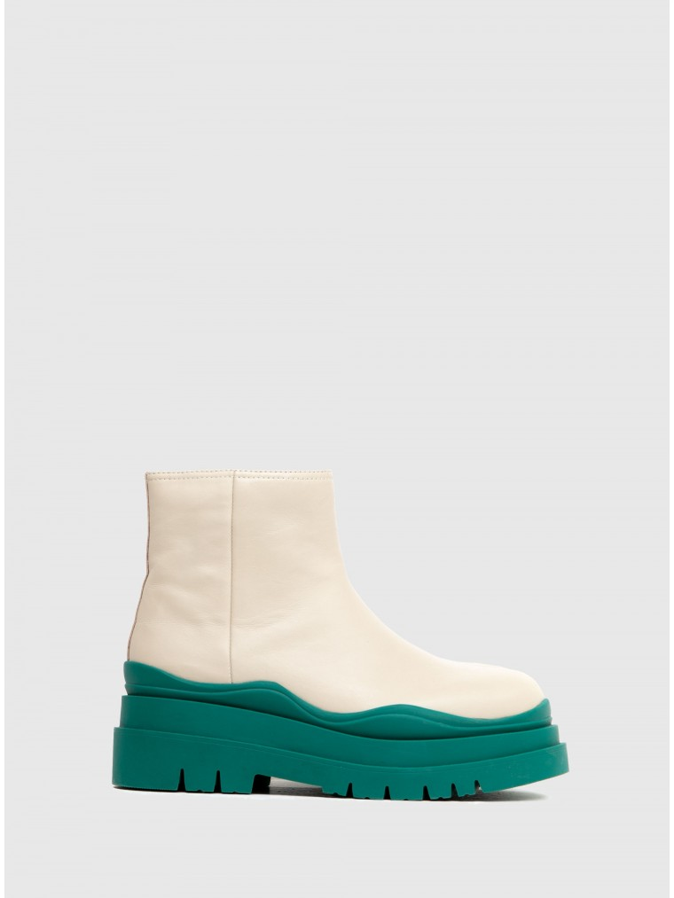 Jeffrey Campbell Ankle Boots Loading-Green