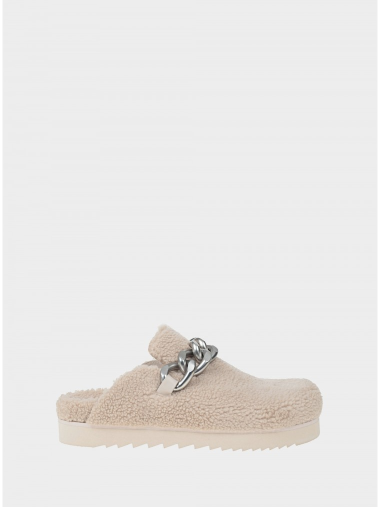 Ash Slippers Ghost Fur-Off White