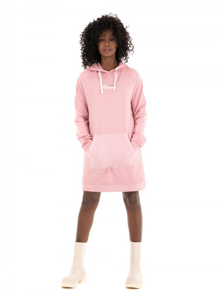 Ellesse Hooded Dress Trihala-Pink