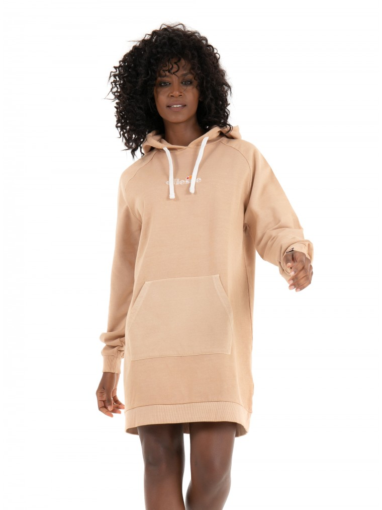 Ellesse Hooded Dress Trihala-Beige
