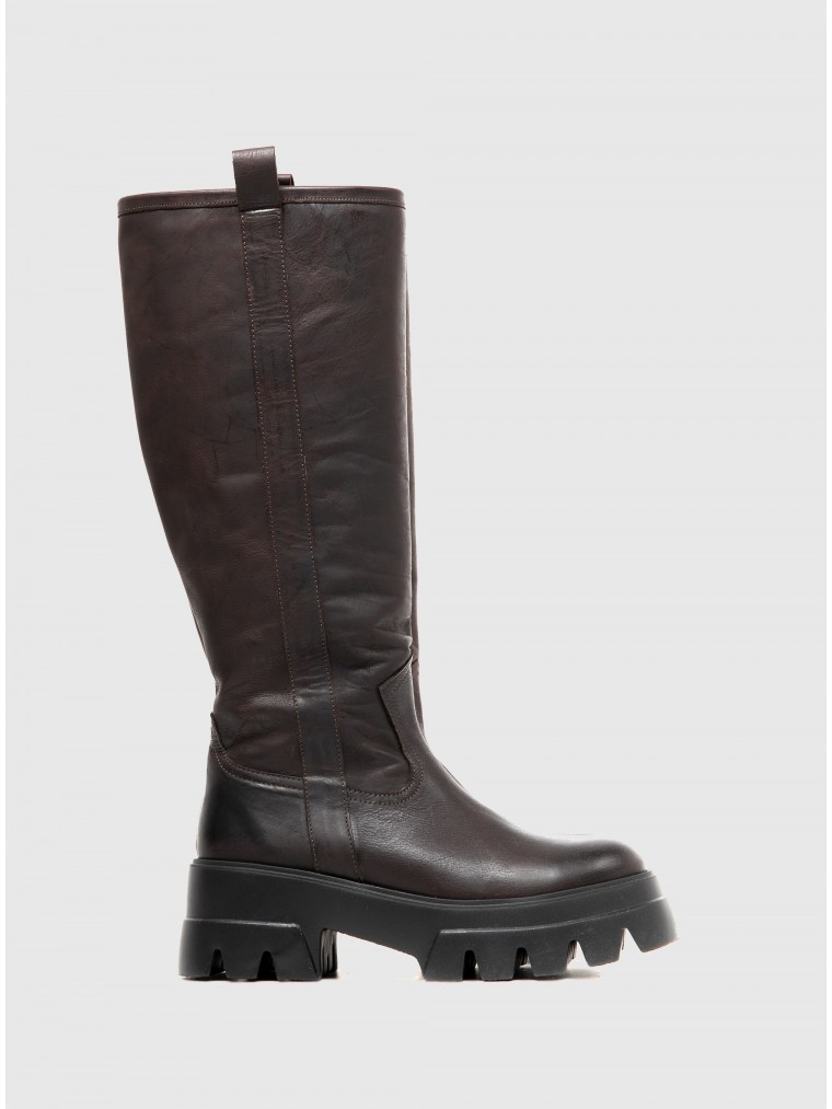 Catarina Martins Boots Bonum Long-Brown