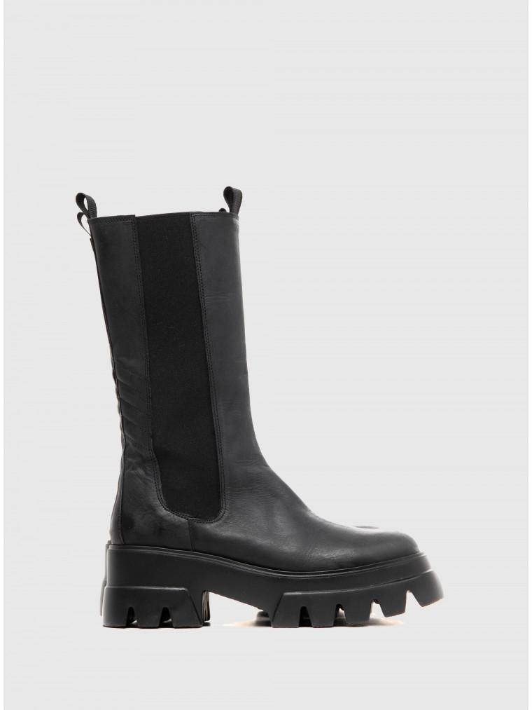 Catarina Martins Ankle Boots Bonum Wax-Black