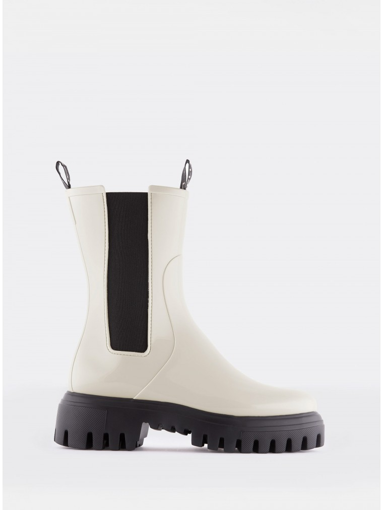 Lemon Jelly Ankle Boots City 05-Off White