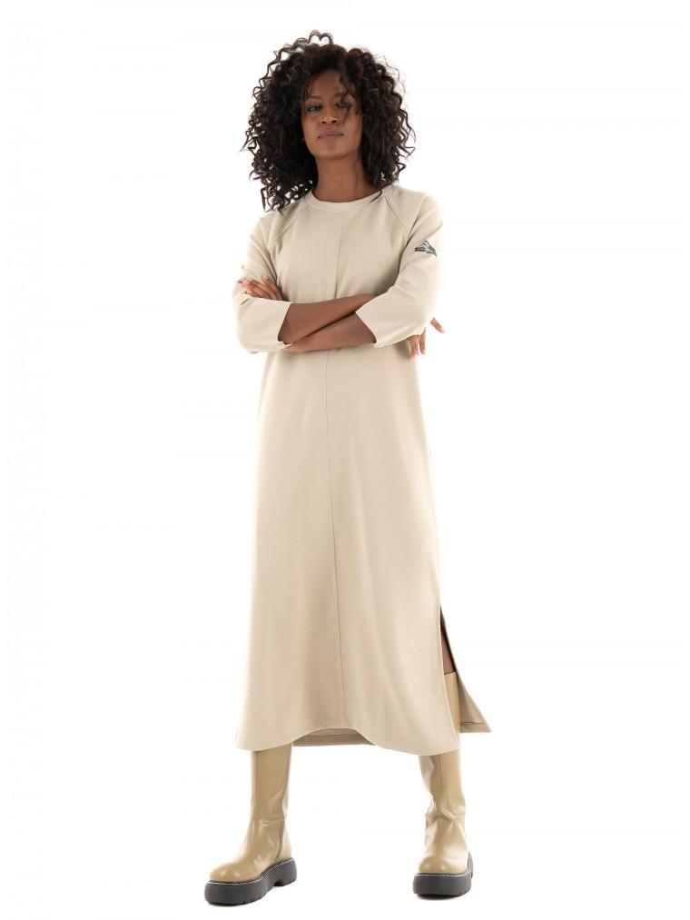 Ecoalf Noja Dress-Beige