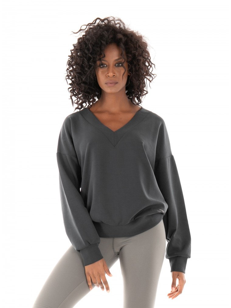 Ecoalf Fornells Sweatshirt-Black