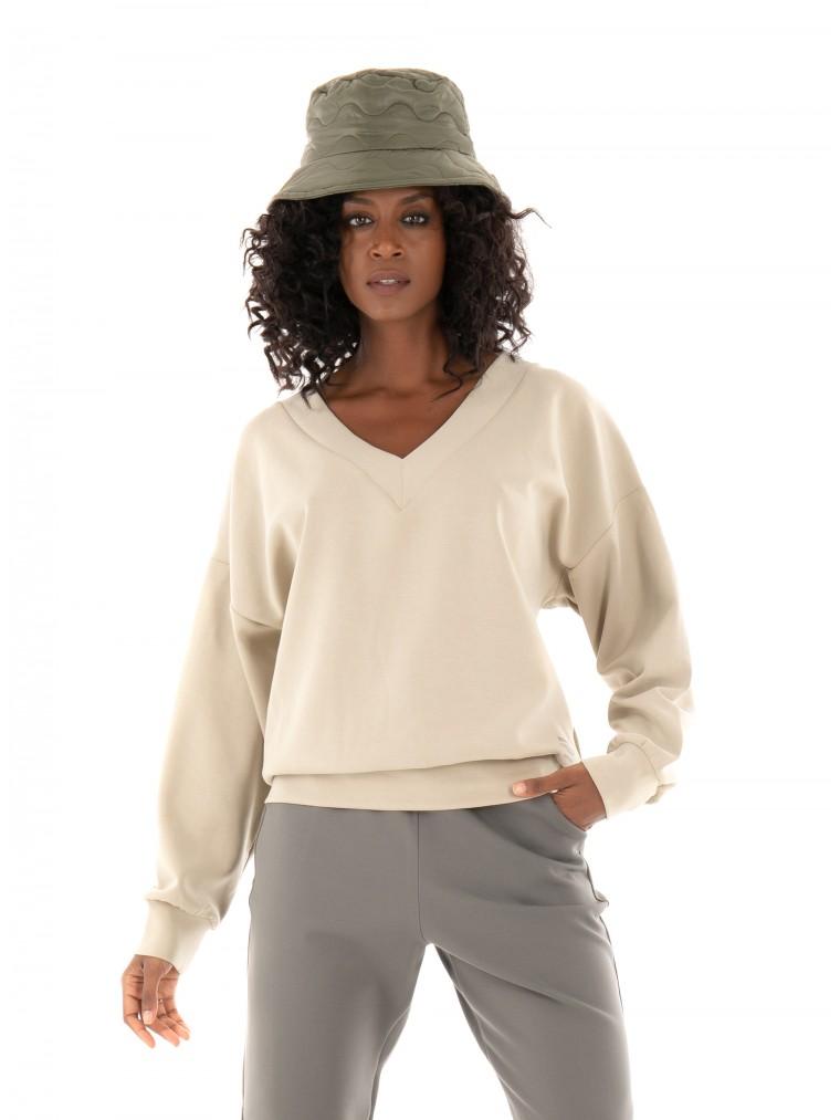Ecoalf Fornells Sweatshirt-Beige