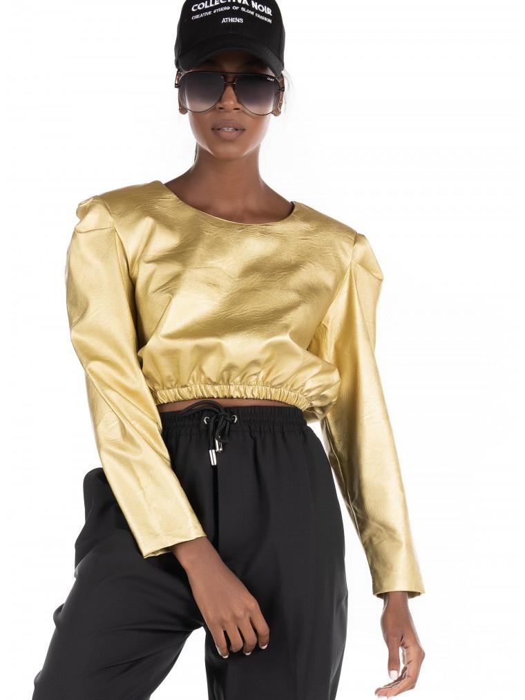 Collectiva Noir Top Mina-Gold
