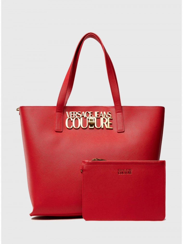 Versace Jeans Couture Tote Bag-Red