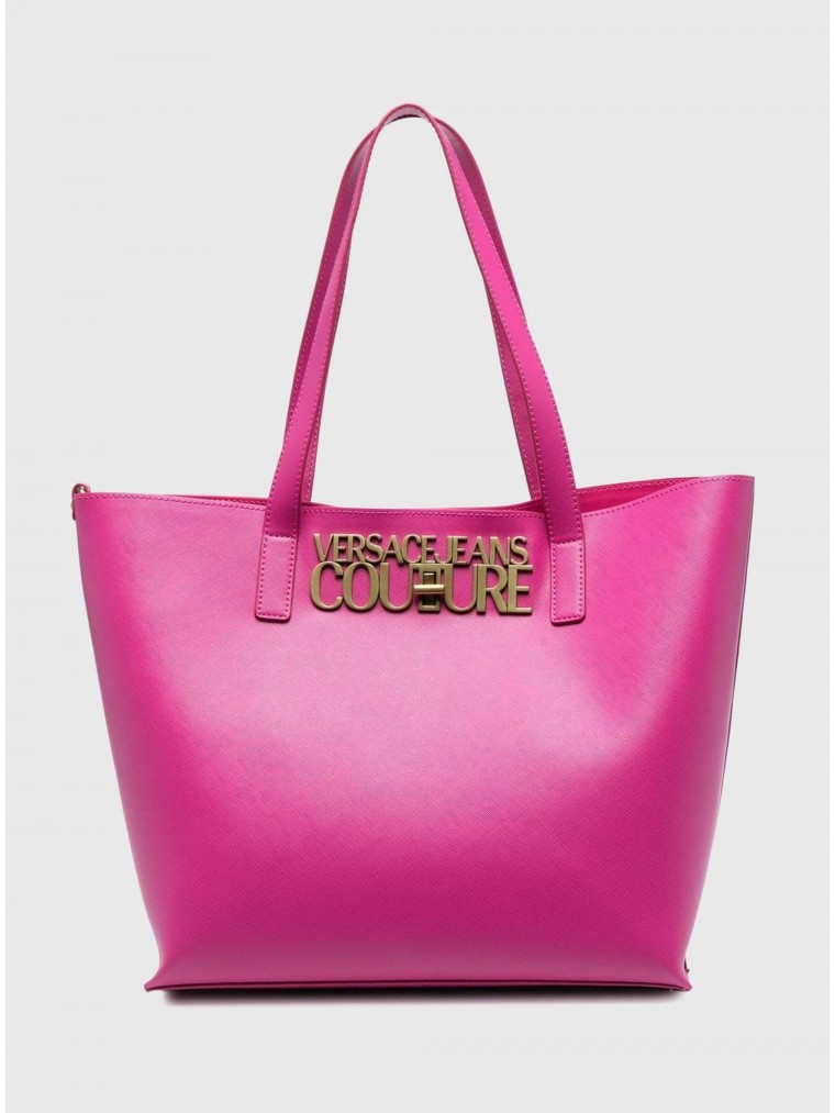 Versace Jeans Couture Tote Bag-Fuchsia
