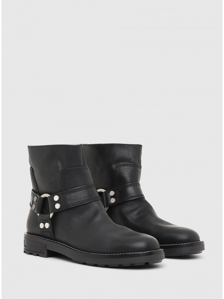 Diesel Ankle Boots D-Throuper AB W-Black